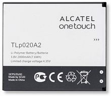 Аккумулятор Alcatel TLp020A2  One Touch 5050X / 5050Y POP S3 / 5065D POP 3 3.8V 2000mAh orig