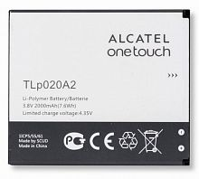 Аккумулятор Alcatel TLi020A2 One Touch POP 3 5065D 3.8V 2000mAh  orig